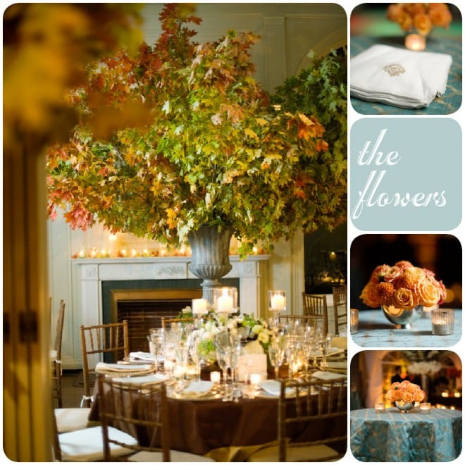 autumn connecticut wedding florals