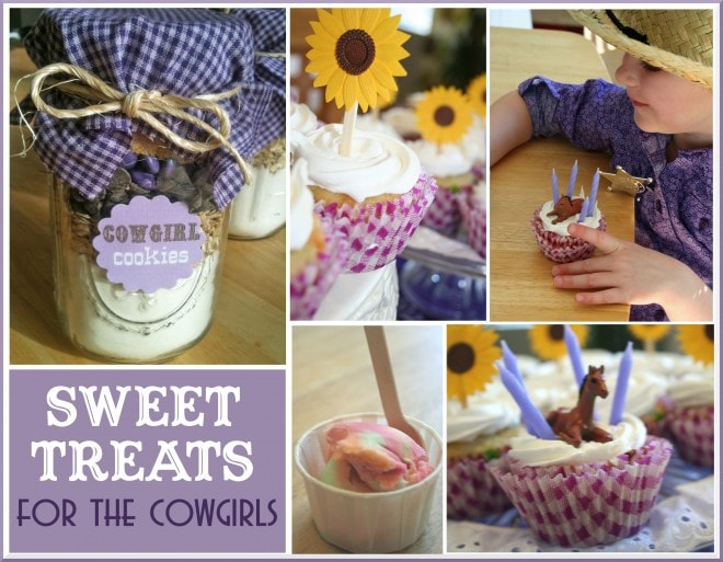 cowgirl cookies in a jar treats for party