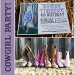 Purple Cowgirl Party!
