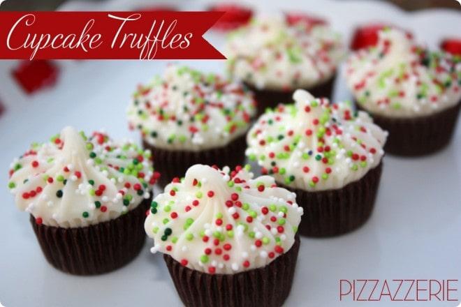 how to make cupcake truffles