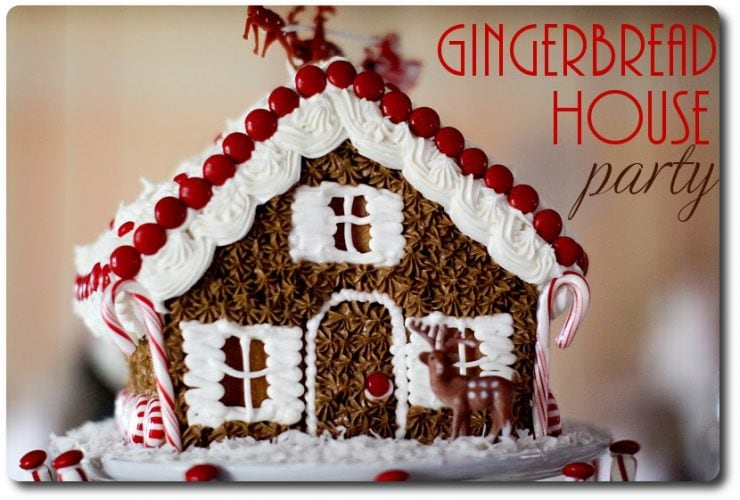 Happy Holidays & Gingerbread House Party!