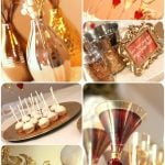 {Gold Glam} New Year's Party