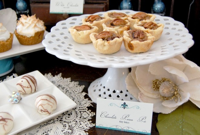 pecan tartlets holiday