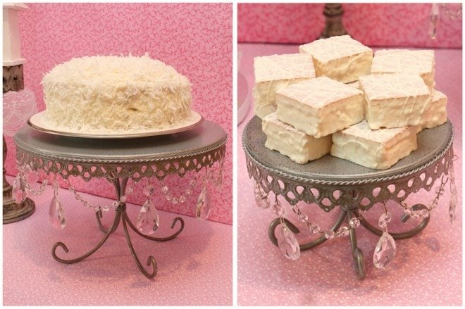 bridal shower love theme treats