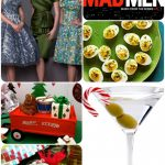 Madmen Inspired Christmas Party