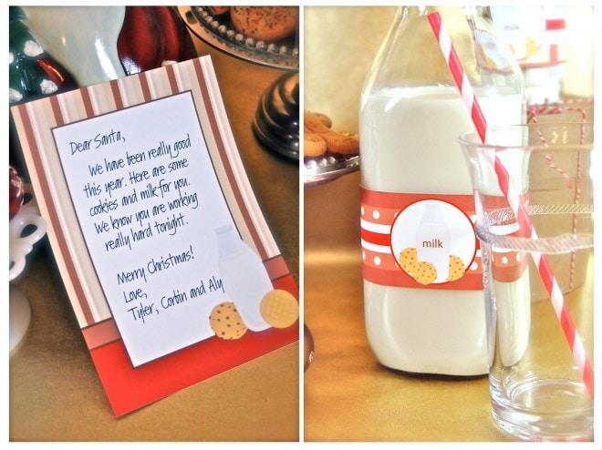 milk cookies invite