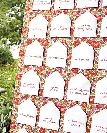 diy wedding table numbers 2 Envelope Table Assignments