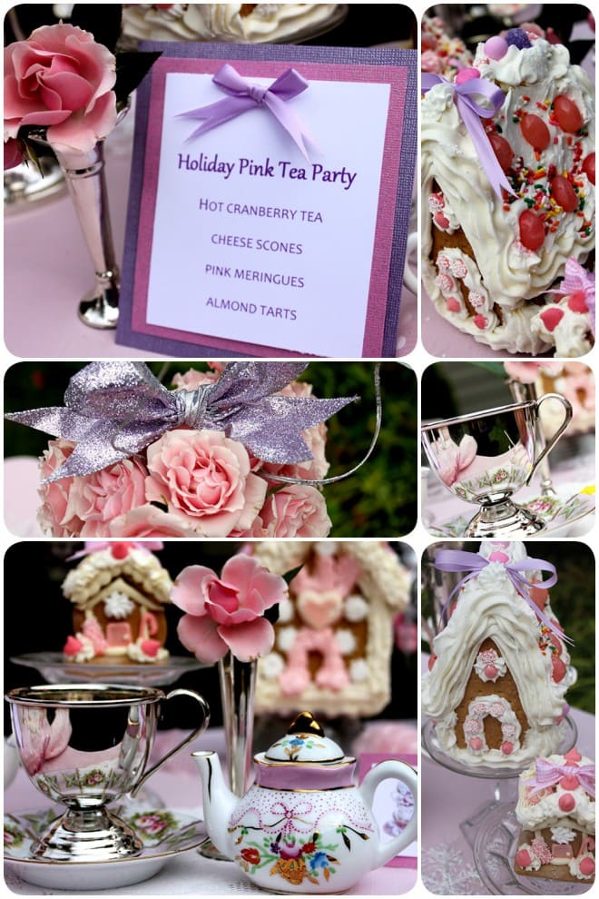 pink tea party holiday