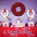 A Royal Holiday: Purple & Red
