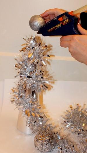 ornament hot glue gun