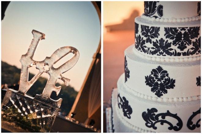 love wedding ice sculpture