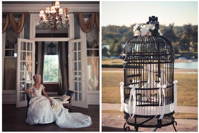 wedding birdcage