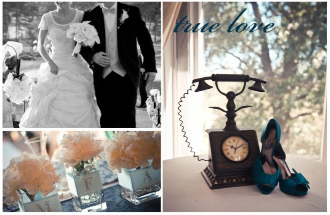 Wedding Showcase: Romantic Teal