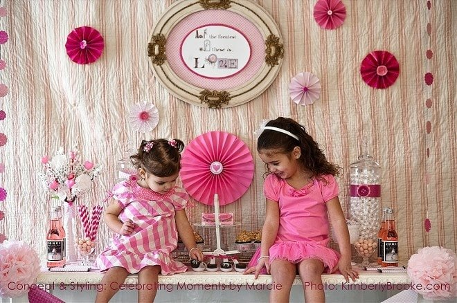 Pink Valentine's Party Picture