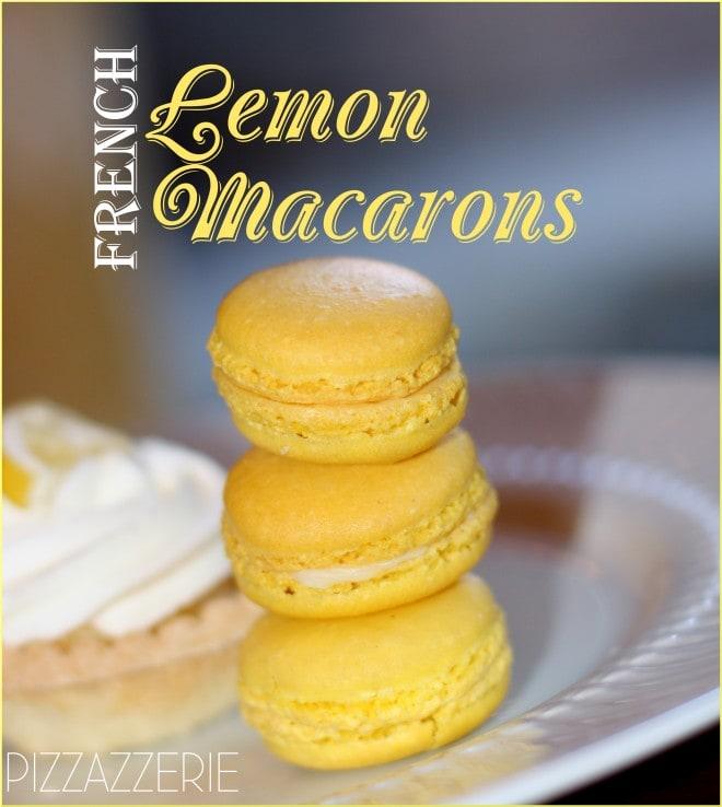 french lemon macaron recipe picture
