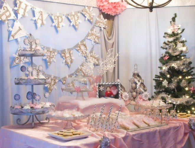 Snowflake 1st Birthday Party