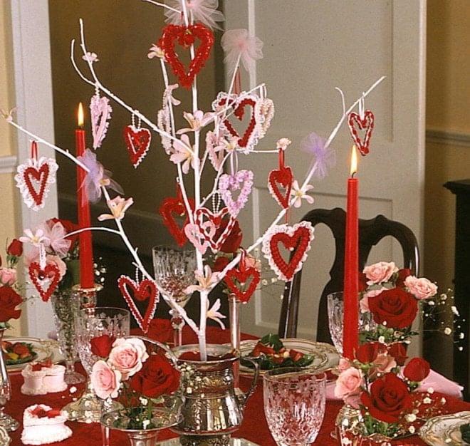 valentine's party centerpiece