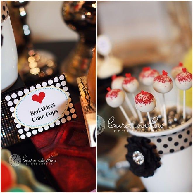 red velvet cake pops