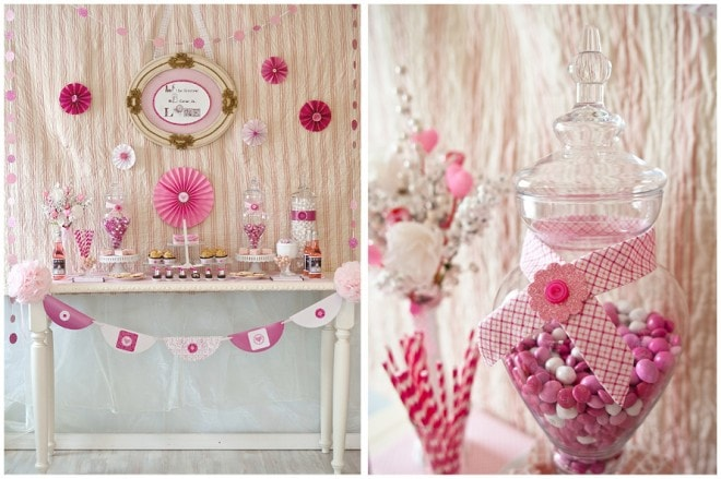 valentine's pink party picture