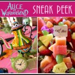 Alice in Wonderland 1st Birthday Party {Sneak Peek}