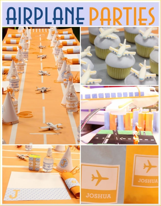 airplane birthday party by amy atlas