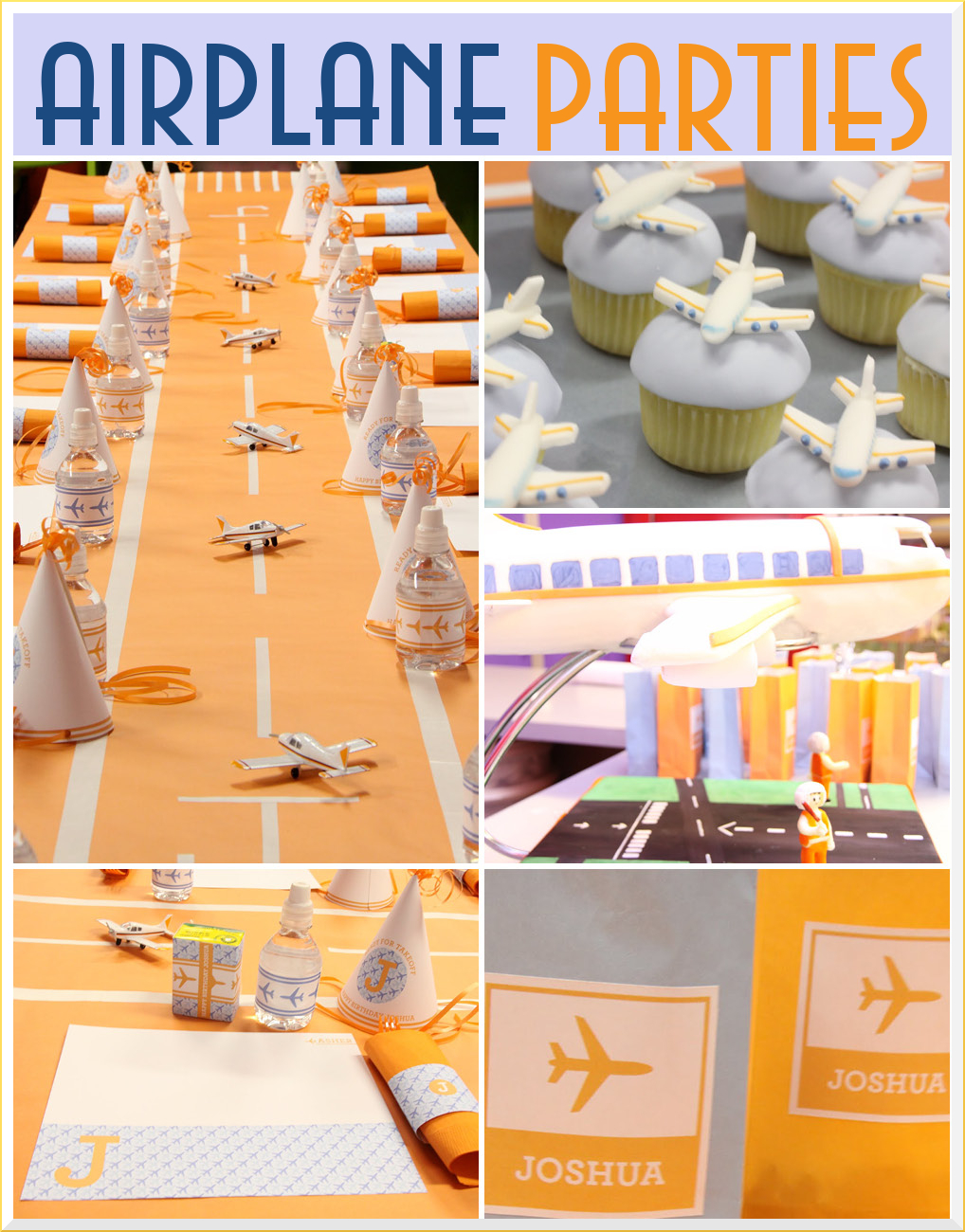 Airplane Birthday Party Inspiration  Pizzazzerie