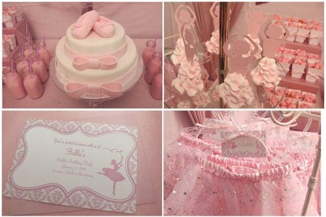 ballerina birthday party for little girl