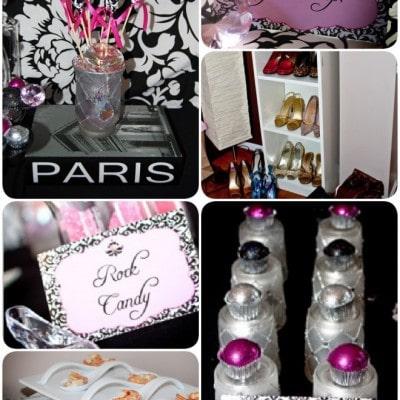 pink diamond clothing swap party