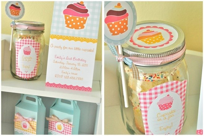 cupcake party printables