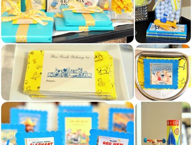 Golden Books Baby Shower (+ Free Printables!)