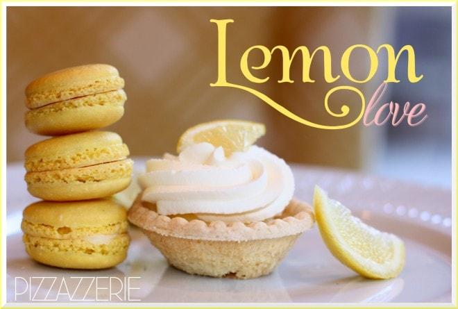 lemon macaroon tart picture