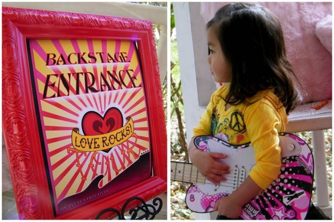 love rocks poster