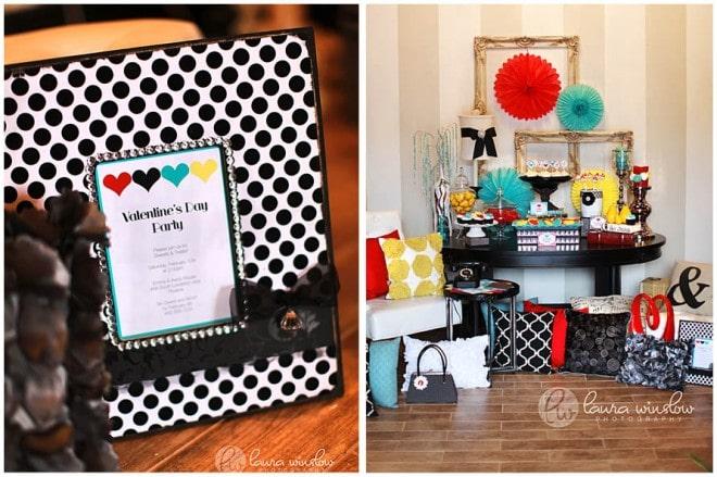 mod glam valentine's day printables by tomkat studio