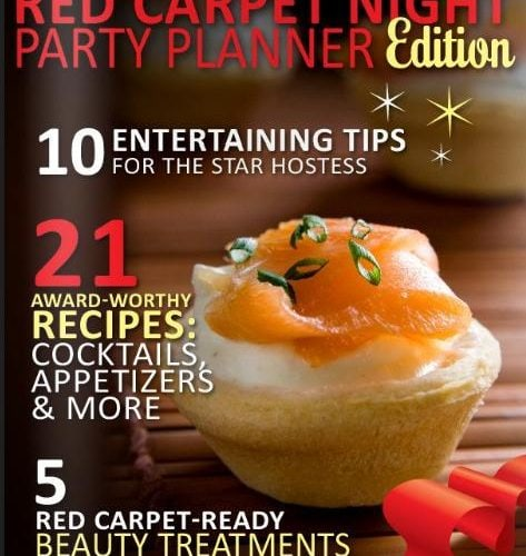 Red Carpet Night Party Planner