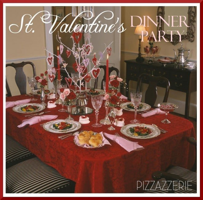 St Valentine S Day Dinner Party Amp Diy Sugar Heart Boxes