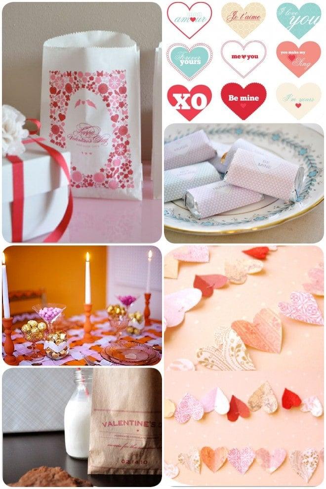 Valentine's DIY Crafts and Free Printables