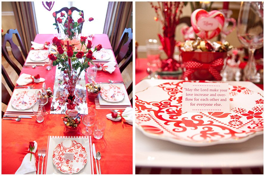 valentine 39 s dinner party pizzazzerie