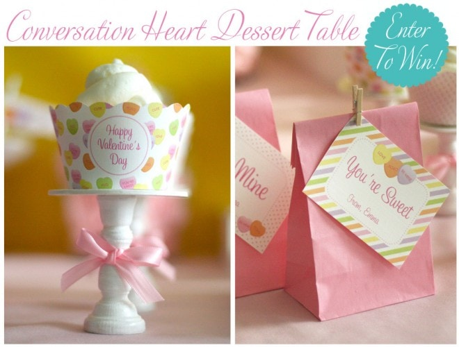 conversation heart giveaway