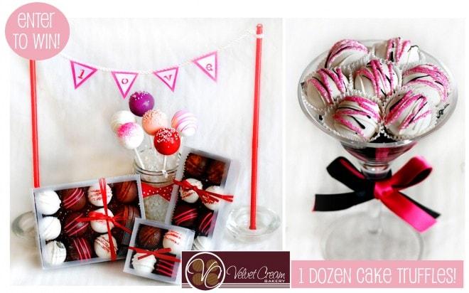 Velvet Cream Bakery: Cake Truffle Giveaway!