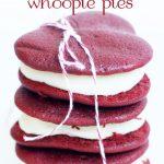 valentine's heart whoopie pies