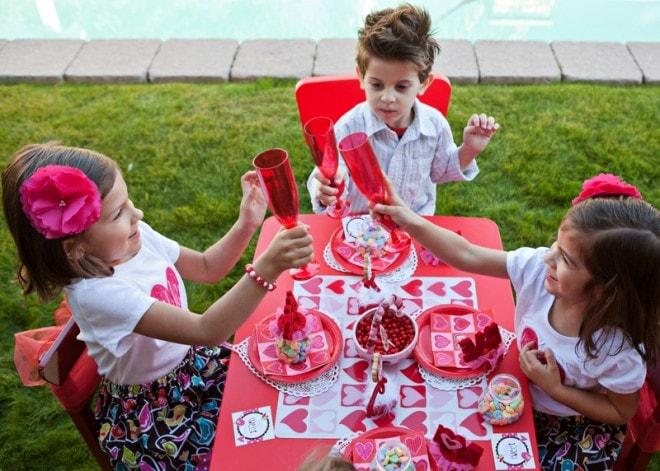 children's valentine's party cheers