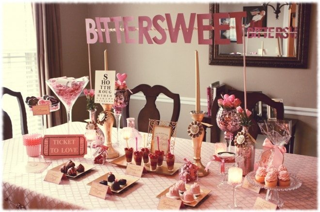 bittersweet valentine's party