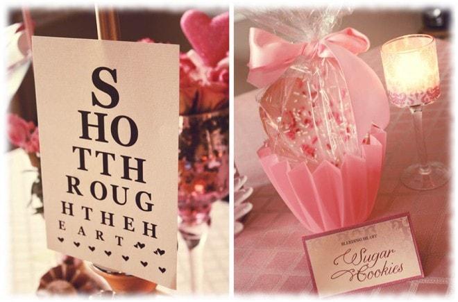 shot through the heart valentine's sugar cookies