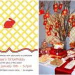 Chinese New Year 1st Birthday Party – Year of the Rabbit