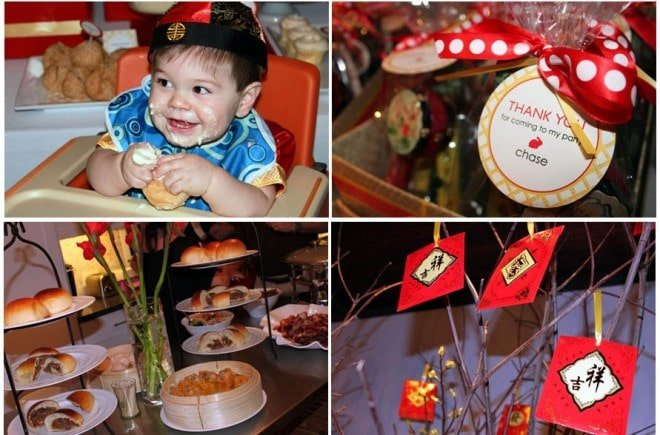 chinese new year's birthday party