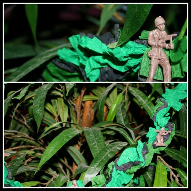 crepe paper streamers gi joe party