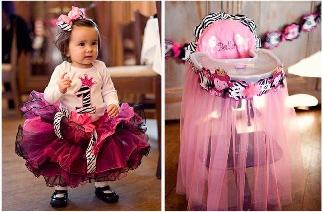 french poodle tutu high chair
