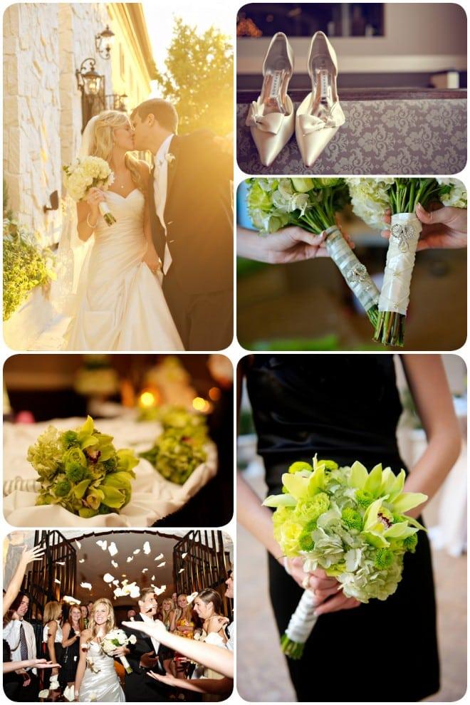 green texas wedding