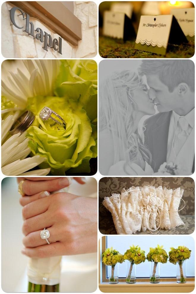 green wedding in texas