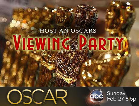 host oscar viewing party at home